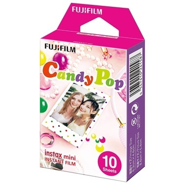 Fujifilm instax mini Candy Pop 10'lu Özel Film Renkli